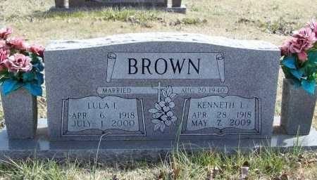 BROWN, LULA IRENE - Benton County, Arkansas | LULA IRENE BROWN - Arkansas Gravestone Photos