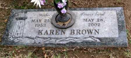BROWN, KAREN LORENE - Benton County, Arkansas | KAREN LORENE BROWN - Arkansas Gravestone Photos