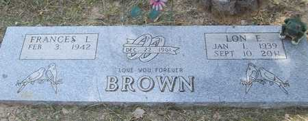 BROWN, LON EARL - Benton County, Arkansas | LON EARL BROWN - Arkansas Gravestone Photos