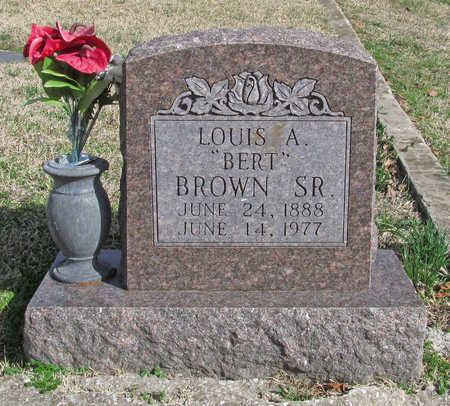 "BROWN, SR, LOUIS A ""BERT"" - Benton County, Arkansas 
