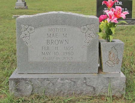 BROWN, MAE M - Benton County, Arkansas | MAE M BROWN - Arkansas Gravestone Photos