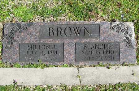 BROWN, BLANCHE - Benton County, Arkansas | BLANCHE BROWN - Arkansas Gravestone Photos
