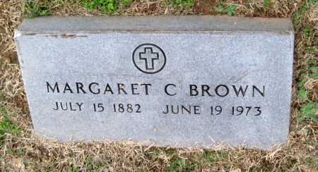 BROWN, MARGARET C. - Benton County, Arkansas | MARGARET C. BROWN - Arkansas Gravestone Photos