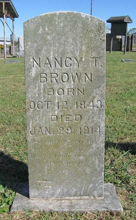 BROWN, NANCY T - Benton County, Arkansas | NANCY T BROWN - Arkansas Gravestone Photos