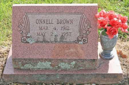 BROWN, ONNELL - Benton County, Arkansas | ONNELL BROWN - Arkansas Gravestone Photos