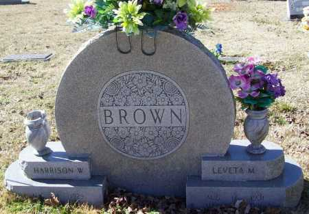 BROWN, LEVETA MAE - Benton County, Arkansas   LEVETA MAE BROWN - Arkansas Gravestone Photos