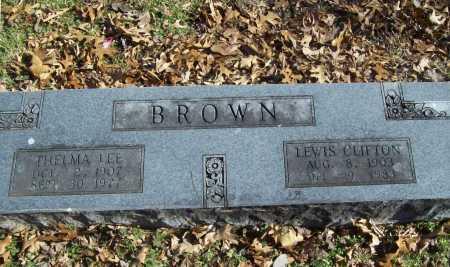 BROWN, THELMA LEE - Benton County, Arkansas | THELMA LEE BROWN - Arkansas Gravestone Photos