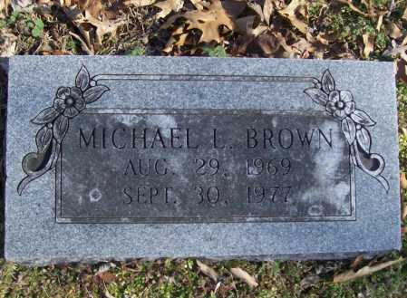 BROWN, MICHAEL LIVINGSTON - Benton County, Arkansas | MICHAEL LIVINGSTON BROWN - Arkansas Gravestone Photos