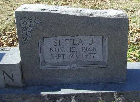 BROWN, SHEILA J. - Benton County, Arkansas | SHEILA J. BROWN - Arkansas Gravestone Photos