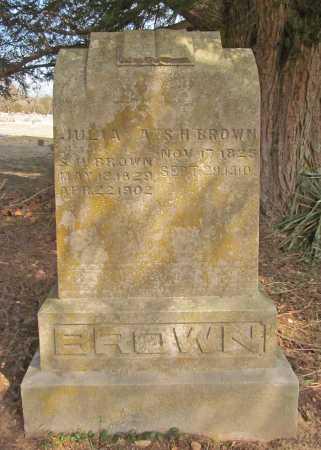BROWN, S H - Benton County, Arkansas | S H BROWN - Arkansas Gravestone Photos