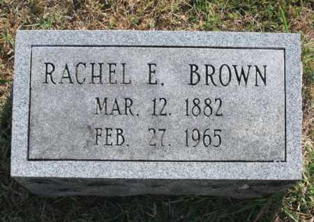BROWN, RACHEL E. - Benton County, Arkansas | RACHEL E. BROWN - Arkansas Gravestone Photos