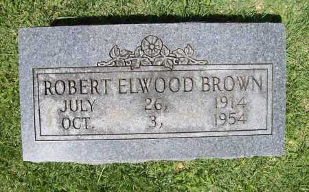 BROWN, ROBERT ELWOOD - Benton County, Arkansas | ROBERT ELWOOD BROWN - Arkansas Gravestone Photos