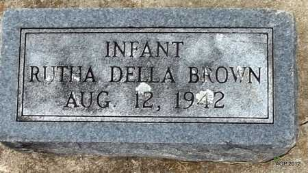 BROWN, RUTHA DELLA - Benton County, Arkansas | RUTHA DELLA BROWN - Arkansas Gravestone Photos