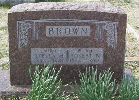 BROWN, STELLA M. - Benton County, Arkansas | STELLA M. BROWN - Arkansas Gravestone Photos