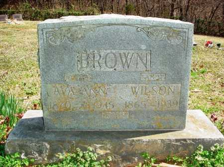 BROWN, AVA ANN - Benton County, Arkansas | AVA ANN BROWN - Arkansas Gravestone Photos
