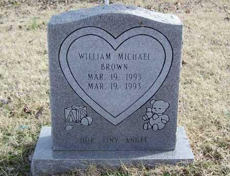 BROWN, WILLIAM MICHAEL - Benton County, Arkansas   WILLIAM MICHAEL BROWN - Arkansas Gravestone Photos