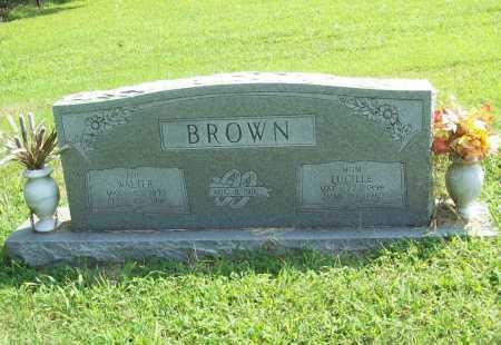 BROWN, LUCILLE - Benton County, Arkansas | LUCILLE BROWN - Arkansas Gravestone Photos