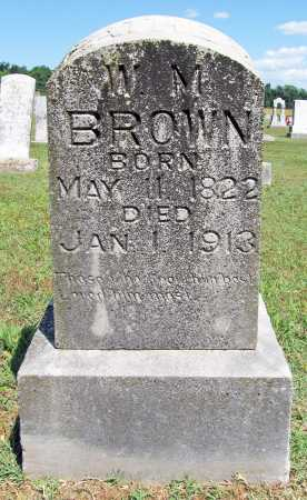 BROWN, W M - Benton County, Arkansas | W M BROWN - Arkansas Gravestone Photos