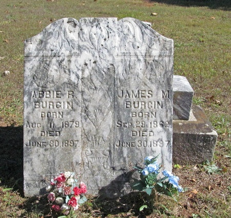 HURLINGER BURGIN, ABBIE R - Benton County, Arkansas   ABBIE R HURLINGER BURGIN - Arkansas Gravestone Photos