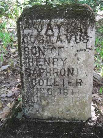 COLLIER, JAY GUSTAVUS - Benton County, Arkansas | JAY GUSTAVUS COLLIER - Arkansas Gravestone Photos