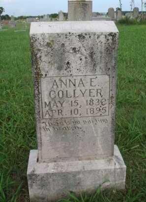 COLLYER, ANNA E. - Benton County, Arkansas | ANNA E. COLLYER - Arkansas Gravestone Photos