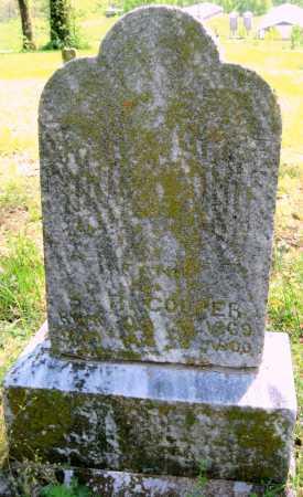 COOPER, FANNIE - Benton County, Arkansas   FANNIE COOPER - Arkansas Gravestone Photos