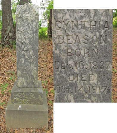 WALKER DEASON, CYNTHIA JANE - Benton County, Arkansas | CYNTHIA JANE WALKER DEASON - Arkansas Gravestone Photos