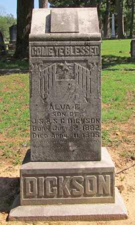 DICKSON, ALVA EARL - Benton County, Arkansas | ALVA EARL DICKSON - Arkansas Gravestone Photos