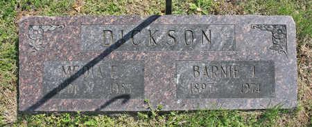 DICKSON, MEDIA E - Benton County, Arkansas   MEDIA E DICKSON - Arkansas Gravestone Photos