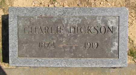 DICKSON, CHARLIE CYRUS - Benton County, Arkansas   CHARLIE CYRUS DICKSON - Arkansas Gravestone Photos