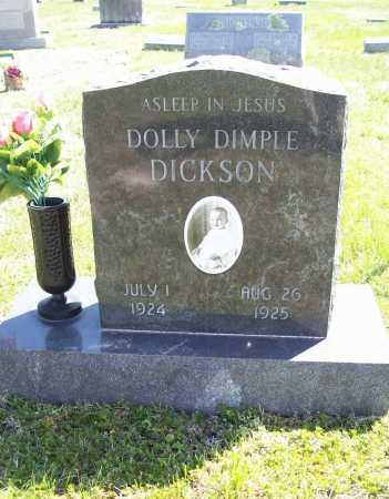 DICKSON, DOLLY DIMPLE - Benton County, Arkansas   DOLLY DIMPLE DICKSON - Arkansas Gravestone Photos