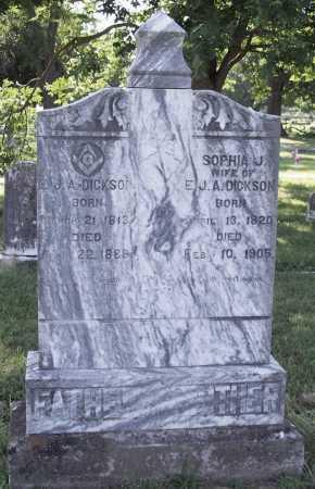 DICKSON, SOPHIA J. - Benton County, Arkansas | SOPHIA J. DICKSON - Arkansas Gravestone Photos