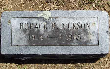 DICKSON, HORACE R - Benton County, Arkansas | HORACE R DICKSON - Arkansas Gravestone Photos