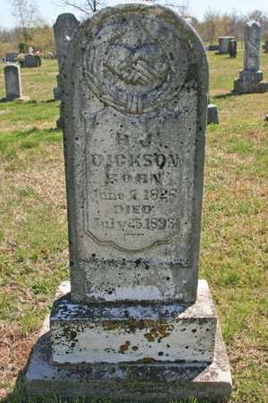 DICKSON, H. J. - Benton County, Arkansas | H. J. DICKSON - Arkansas Gravestone Photos