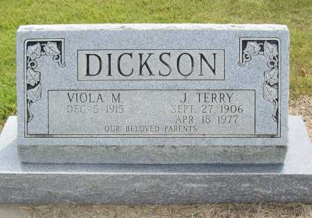 DICKSON, J. TERRY - Benton County, Arkansas | J. TERRY DICKSON - Arkansas Gravestone Photos