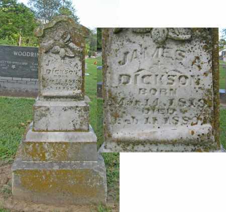 DICKSON, JAMES A - Benton County, Arkansas | JAMES A DICKSON - Arkansas Gravestone Photos