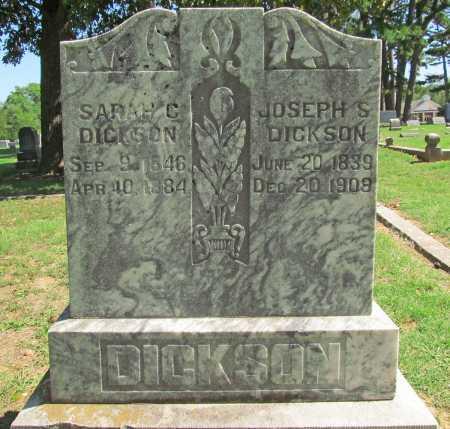 DICKSON, SARAH C - Benton County, Arkansas | SARAH C DICKSON - Arkansas Gravestone Photos