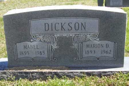 DICKSON, MABEL - Benton County, Arkansas   MABEL DICKSON - Arkansas Gravestone Photos