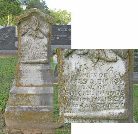DICKSON, MARY A - Benton County, Arkansas | MARY A DICKSON - Arkansas Gravestone Photos
