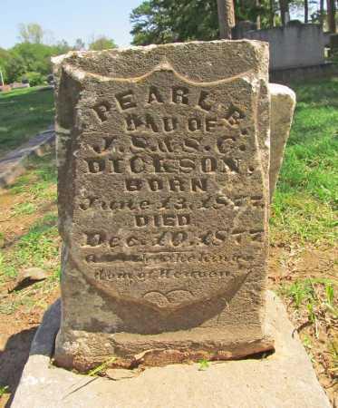 DICKSON, PEARL B - Benton County, Arkansas | PEARL B DICKSON - Arkansas Gravestone Photos