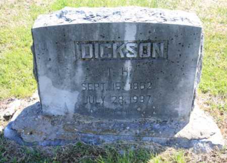 DICKSON, T. H. - Benton County, Arkansas   T. H. DICKSON - Arkansas Gravestone Photos