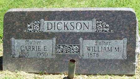 DICKSON, WILLIAM M - Benton County, Arkansas | WILLIAM M DICKSON - Arkansas Gravestone Photos