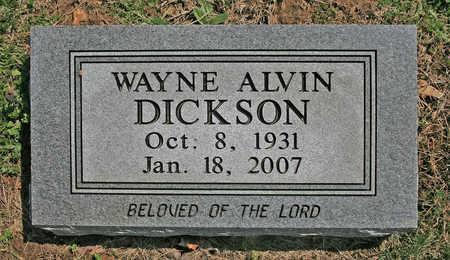 DICKSON, WAYNE ALVIN - Benton County, Arkansas | WAYNE ALVIN DICKSON - Arkansas Gravestone Photos