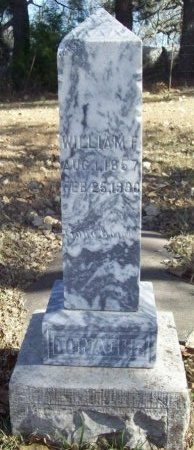 DONAGHE, WILLIAM FRANKLIN - Benton County, Arkansas | WILLIAM FRANKLIN DONAGHE - Arkansas Gravestone Photos