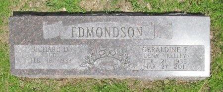 "KELLEY EDMONDSON, GERALDINE FAYE ""DENA"" - Benton County, Arkansas | GERALDINE FAYE ""DENA"" KELLEY EDMONDSON - Arkansas Gravestone Photos"
