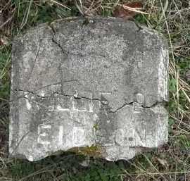 EIDSON, WILLIE D. - Benton County, Arkansas | WILLIE D. EIDSON - Arkansas Gravestone Photos