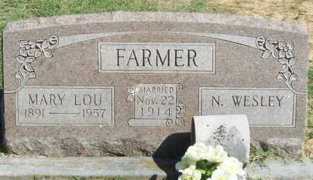 FARMER, MARY LOU - Benton County, Arkansas   MARY LOU FARMER - Arkansas Gravestone Photos