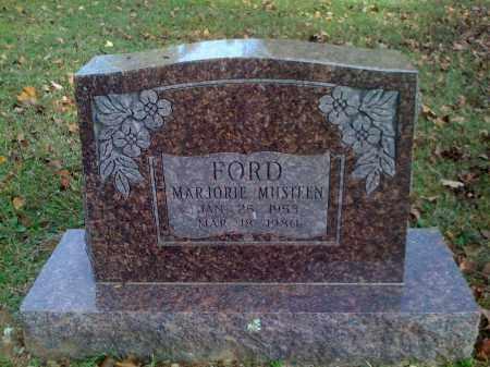 MUSTEEN FORD, MARJORIE - Benton County, Arkansas   MARJORIE MUSTEEN FORD - Arkansas Gravestone Photos