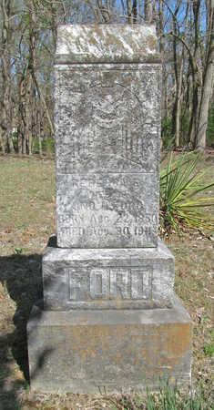 FORD, REBECCA ELLEN - Benton County, Arkansas | REBECCA ELLEN FORD - Arkansas Gravestone Photos