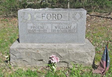 FORD (VETERAN CSA), WILLIAM JOSEPH - Benton County, Arkansas | WILLIAM JOSEPH FORD (VETERAN CSA) - Arkansas Gravestone Photos